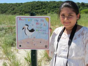 Kids lend a hand in shorebird conservation
