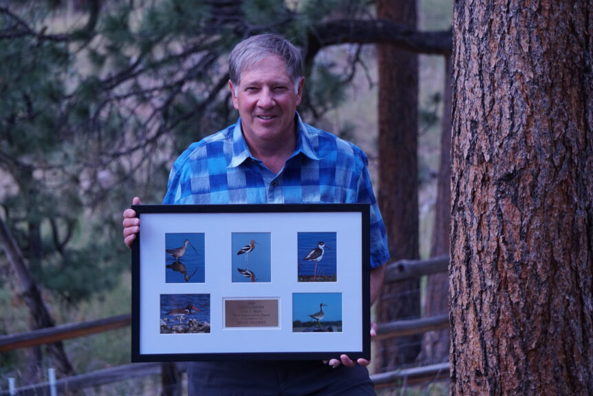 Brad Andres Receives the Gary T. Myers Bird Conservation Award