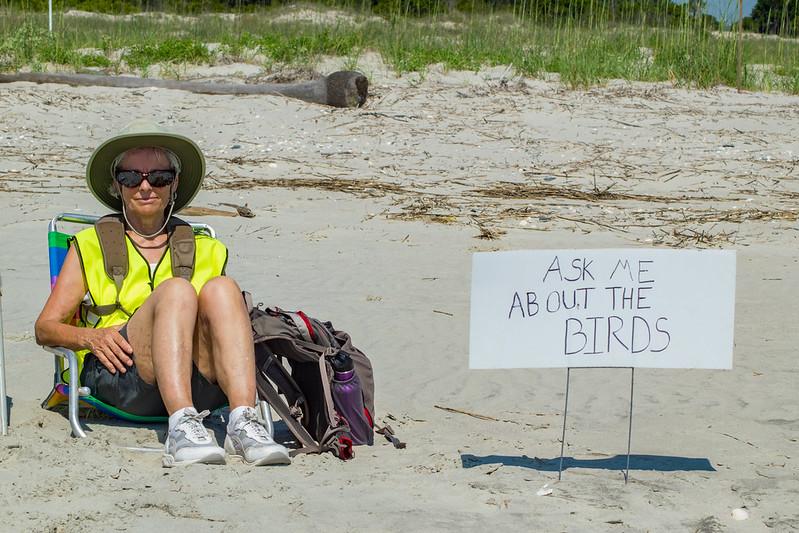 Judith Kramer Stewarding. Nolan Schillerstrom / Audubon